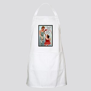 Retro Mother & Daughter BBQ Apron