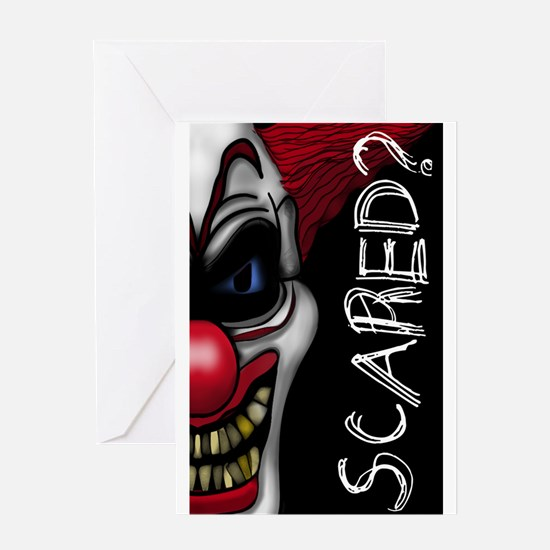 Scared Greeting Cards
