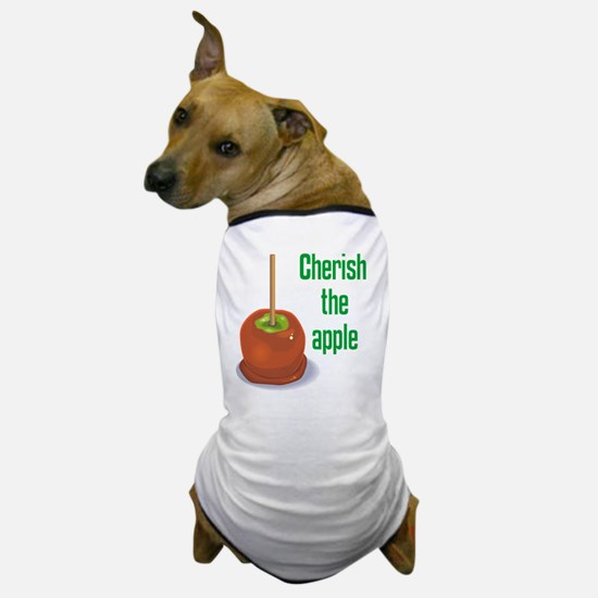 Candy Apple Dog T-Shirt