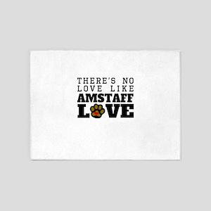 AmStaff Love 5'x7'Area Rug