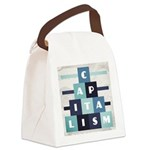 Capitalism Canvas Lunch Bag