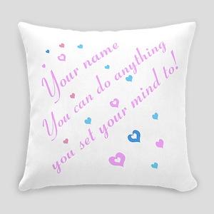 CAN DO Inspirational Saying Everyday Pillow