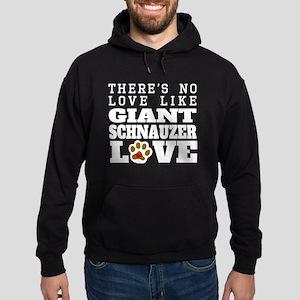 Giant Schnauzer Love Hoodie