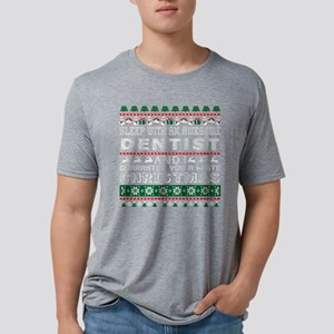 Sleep With Awesome Dentist White Christmas T-Shirt