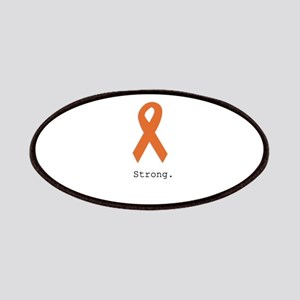 Strong. Orange ribbon Patch