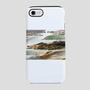 Acadia National Park Coastli iPhone 8/7 Tough Case