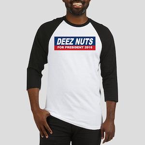 Deez Nuts President 2016 Baseball Jersey