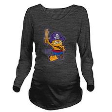 Orangebeard the Pi... Long Sleeve Maternity T-Shir