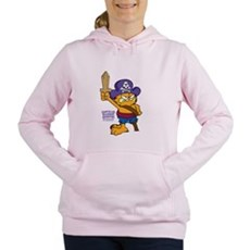 Orangebeard the Pi... Women's Hooded Sweatshirt