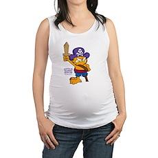Orangebeard the Pi... Maternity Tank Top