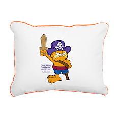 Orangebeard The Pi... Rectangular Canvas Pillow