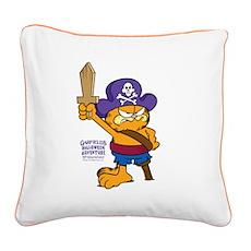 Orangebeard The Pi... Square Canvas Pillow