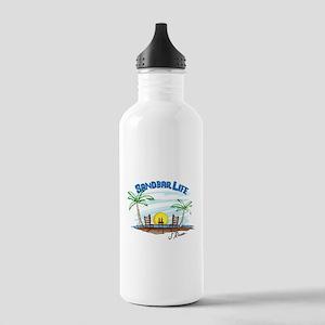 J Rowe Sandbar Life Stainless Water Bottle 1.0L