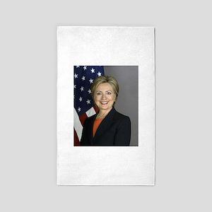 Hillary Clinton Area Rug