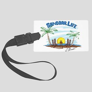 J Rowe Sandbar Life Large Luggage Tag