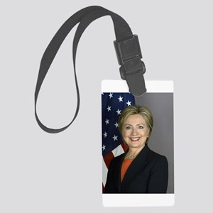 Hillary Clinton Luggage Tag
