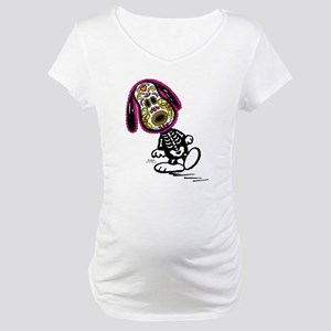 Day of the Dog Snoopy Maternity T-Shirt