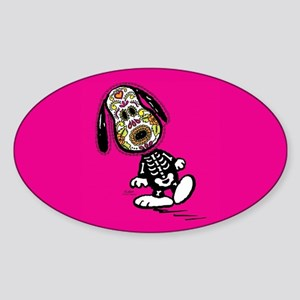 Day of the Dog Snoopy Sticker (Oval)