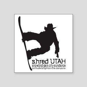 Utah Snowboarding Sticker
