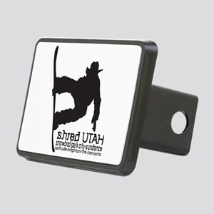 Utah Snowboarding Rectangular Hitch Cover