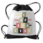 Capitalism Drawstring Bag