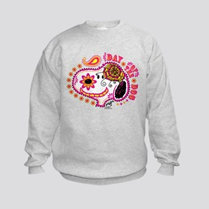 Day of the Dog Snoopy Face Kids Sweatshirt