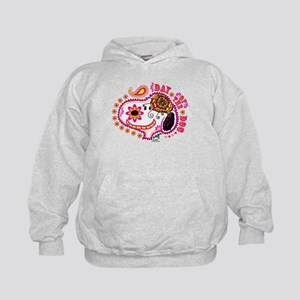 Day of the Dog Snoopy Face Kids Hoodie