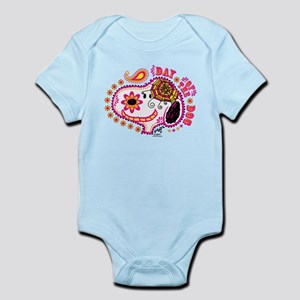 Day of the Dog Snoopy Face Infant Bodysuit
