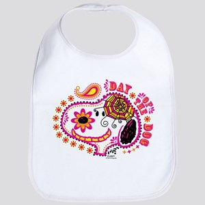 Day of the Dog Snoopy Face Bib