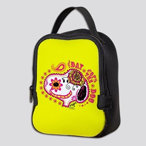 Day of the Dog Snoopy Face Neoprene Lunch Bag