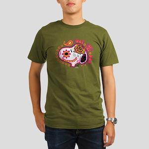 Day of the Dog Snoopy Organic Men's T-Shirt (dark)
