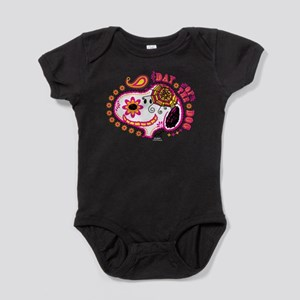 Day of the Dog Snoopy Face Baby Bodysuit