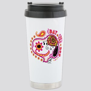Day of the Dog Snoopy F Stainless Steel Travel Mug
