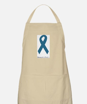Beautiful. Teal Ribbon Apron