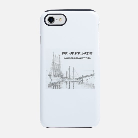 Bar Harbor Schooner iPhone 8/7 Tough Case