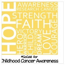 Childhood Cancer Poster