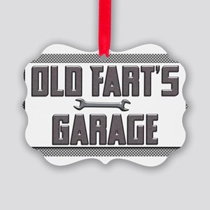 old fart garage Ornament