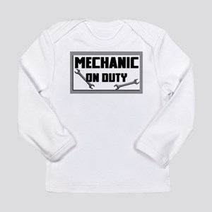 mechanic on duty Long Sleeve T-Shirt