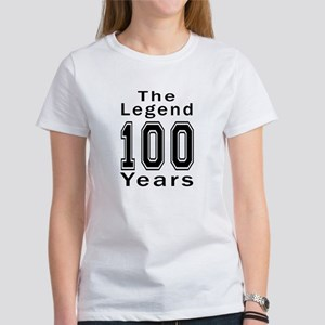 100 Legend Birthday Designs Women's T-Shirt