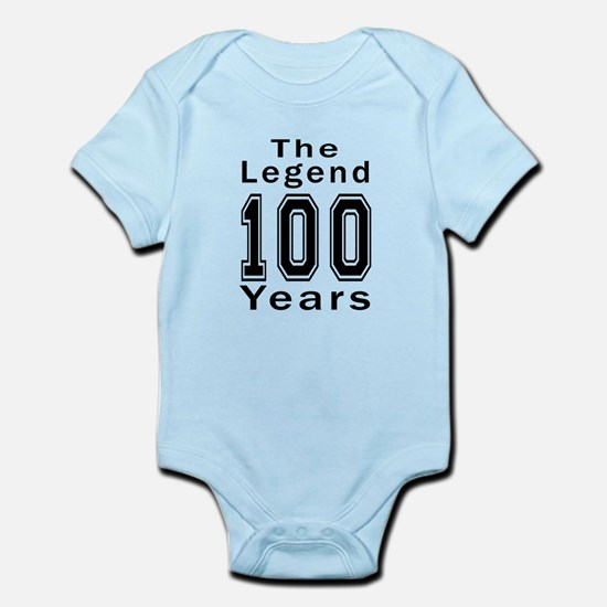 100 Legend Birthday Designs Infant Bodysuit