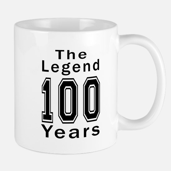 100 Legend Birthday Designs Mug