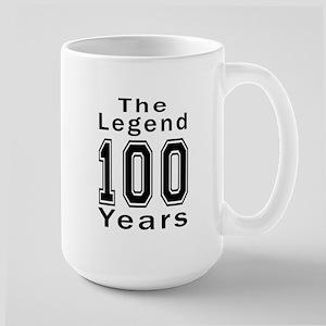 100 Legend Birthday Designs Large Mug