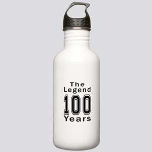 100 Legend Birthday De Stainless Water Bottle 1.0L