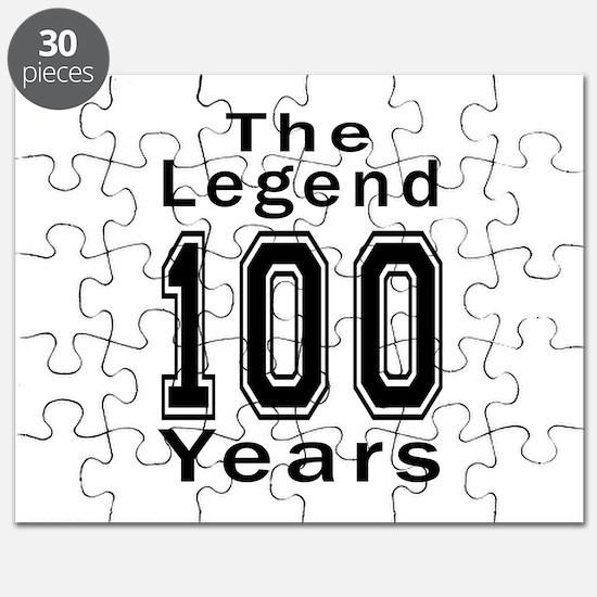 100 Legend Birthday Designs Puzzle