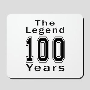 100 Legend Birthday Designs Mousepad
