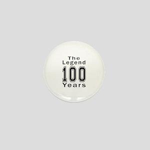 100 Legend Birthday Designs Mini Button