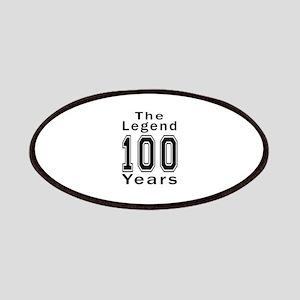 100 Legend Birthday Designs Patch