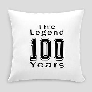 100 Legend Birthday Designs Everyday Pillow