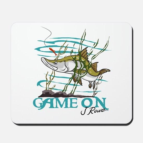 J Rowe Snook - Game On Mousepad