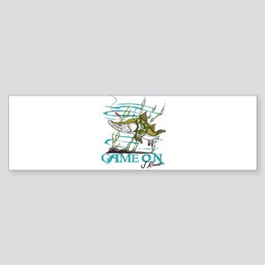 J Rowe Snook - Game On Bumper Sticker
